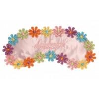 Flowers Pink - maska na spanie