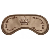 Swarovski Crown Gold - maska na spanie