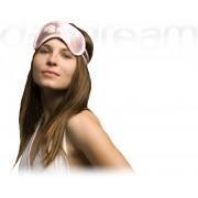 Swarovski Wings Pink - maska na spanie
