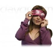 Swarovski Wings Magenta - maska na spanie