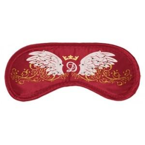 Swarovski Wings Red - maska na spanie