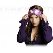 Swarovski Wings Purple - maska na spanie