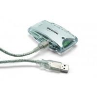 Branch Hub USB Dicota Mini - červený