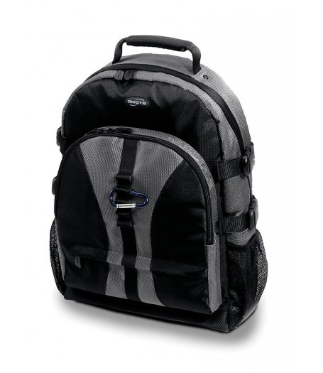 Dicota BacPac Jump - strieborno/čierna %